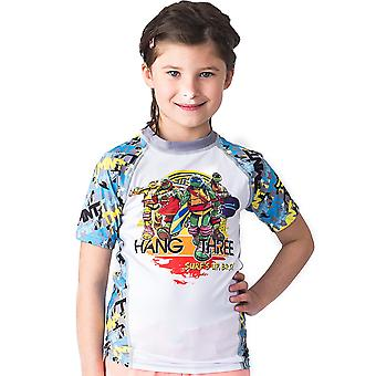 Fusion Fight Gear Kid's TMNT Hang Three Short Sleeve Rashguard
