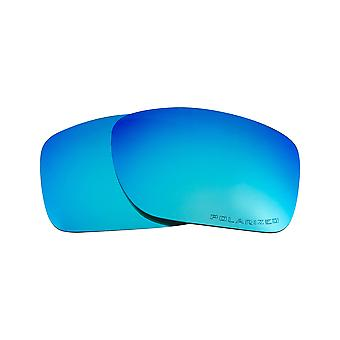 New SEEK Polarized Replacement Lenses for Oakley TURBINE Blue Mirror