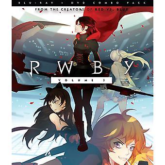 Importación de USA de Rwby 3 [Blu-ray]