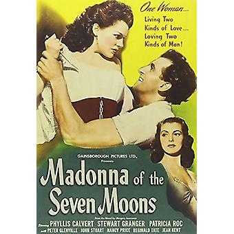 Madonna of the Seven Moons [DVD] USA import