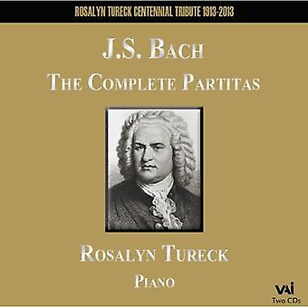 J.S. Bach - Bach: The Complete Partitas [CD] USA import