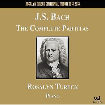 J.S. Bach - Bach: The komplet Partitas [CD] USA import