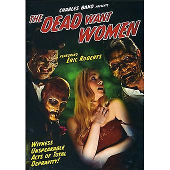 Døde vil kvinder [DVD] USA importerer