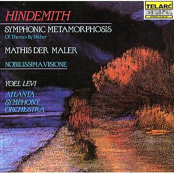 P. Hindemith - Hindemith: Mathis Der Maler; Nobilissima Visione; Symphonic Metamorphosis [CD] USA import
