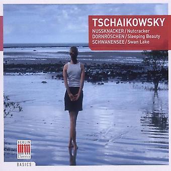 P.I. Tchaikovsky - Tschaikowsky: Cascanueces; La bella durmiente; Importación de los E.e.u.u. del lago de los cisnes [CD]