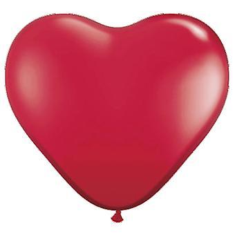 Balloons heart 100St. red heart balloons wedding decoration wedding decor