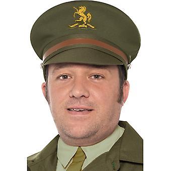 WW2 civil defence Cap Green