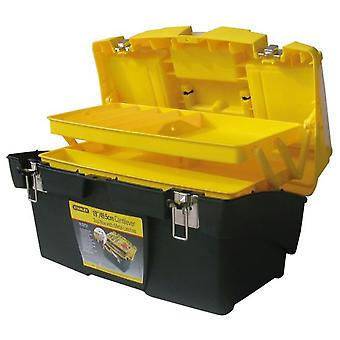 Stanley Mega box cantilever with metal clasps 19  / 48 cm