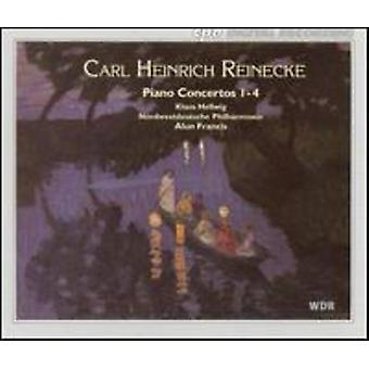 C. Reinecke - Carl Heinrich Reinecke: Piano Concertos Nos. 1-4 [CD] USA import