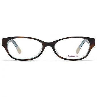 Accessorize Oval Glasses In Tortoiseshell
