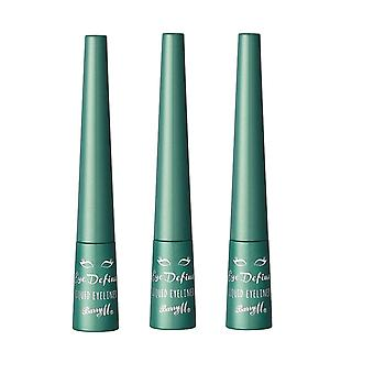 Barry M X 3 Barry M Eye Define Liquid Eyeliner Forest