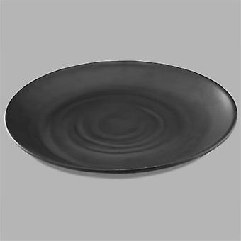 Pujadas Melamine Dish Made Perfect Black Color For Buffet And Presentation