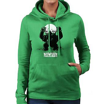 Bowser Unchained Super Mario Bros Women's Hooded Sweatshirt