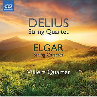 Delius / Elgar / Villiers Quartet - Delius & Elgar: String Quartet [CD] USA import