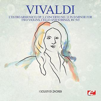 Vivaldi - L'Estro Armonico Op. 3 Concerto No. 11 in D Minor [CD] USA import