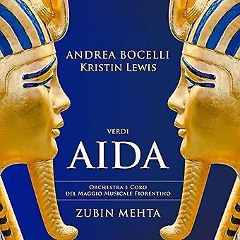 Bocelli/Lewis/Mehta - Verdi: Aida [CD] USA import