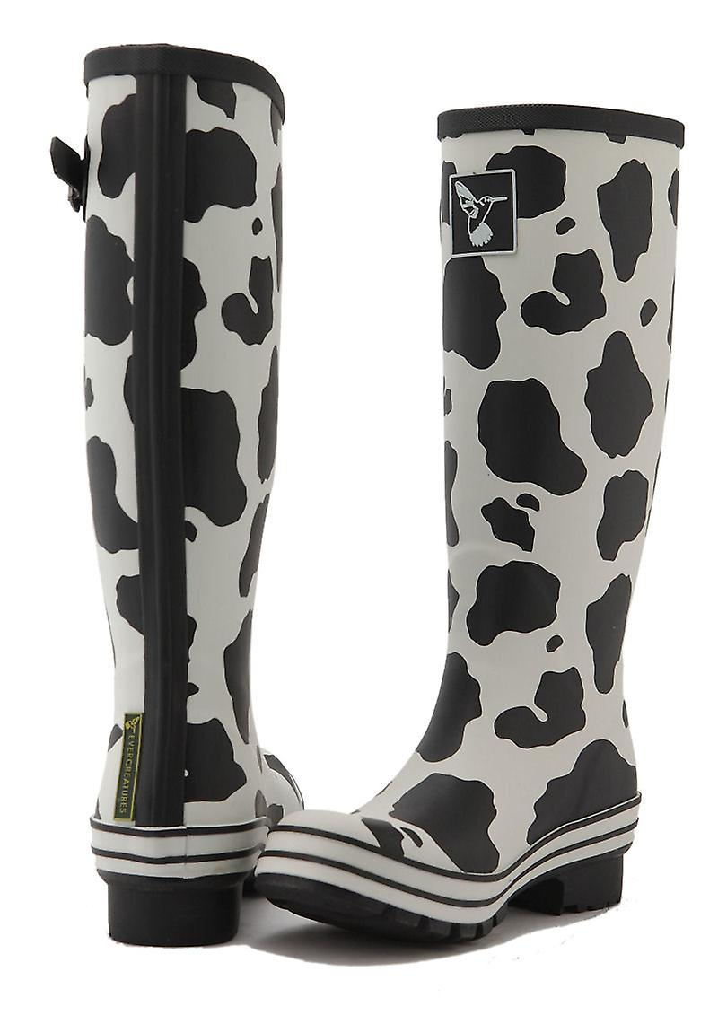 Pattern Cow Sizes Evergreen Ladies Rubber Various Evercreatures Wellies Print nqIvYBWIwf