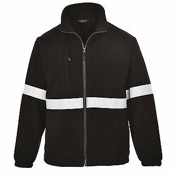 Portwest - Iona Lite Hi-Vis Band Safety Workwear Fleece Jacket