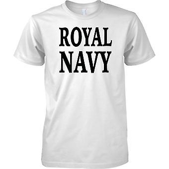 Royal Navy - Word - dzieci T Shirt