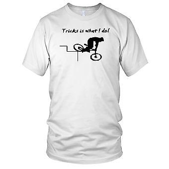 Triks er hva jeg gjøre BMX Mountain Biker Kids T skjorte