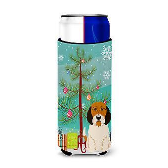 Merry Christmas Tree Petit Basset Griffon Veenden Michelob Ultra Hugger for slim