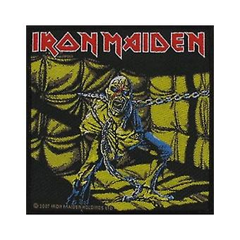 Iron Maiden Patch Piece Of Mind band logo Official (10cm x 10cm)