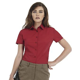 B&C Ladies Smart Short Sleeve Corporate Shirt-SWP64