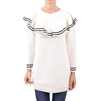 Self-portrait ladies SP15062LWHITE white wool sweater