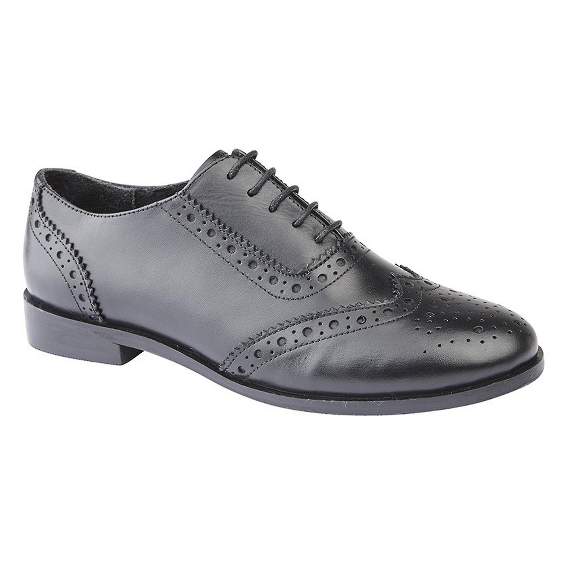 Cipriata Womens/Ladies Violetta Leather Brogue Oxford Shoes