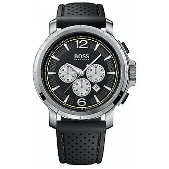 Hugo Boss 1512455 Men's Black Silicone Chronograph Watch