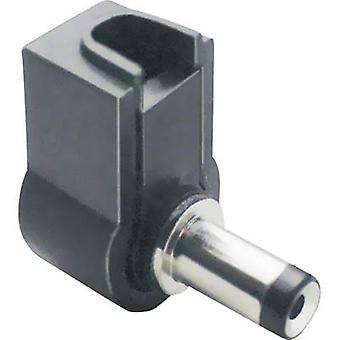 Low power connector Plug, right angle 3 mm 1.1 mm