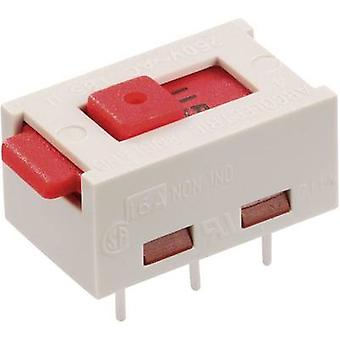 Slide switch 250 V AC 6 A 2 x On/On Arcolectric X2