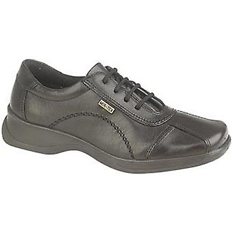 Cotswold Ladies Icomb Leather Waterproof Casual Oxford Shoe Black