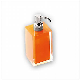 Rainbow Soap Dispenser Orange