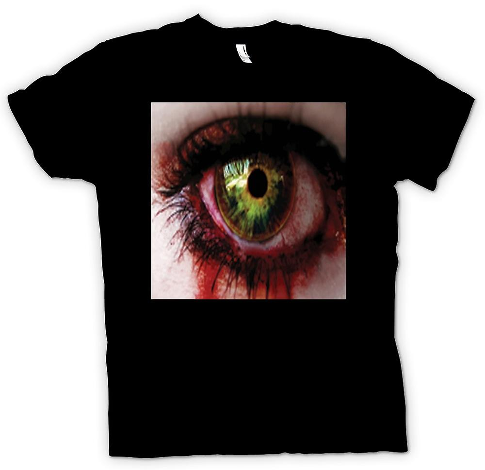 Mens T-shirt - The Walking Dead Zombie Eyeball