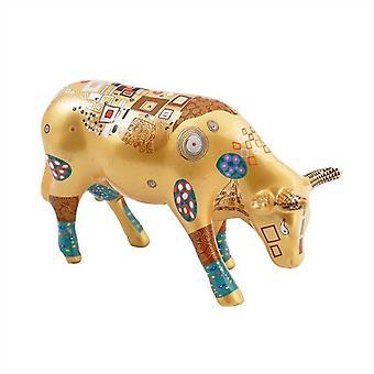 Cow Parade klatrer Kow (mellemstore keramik)