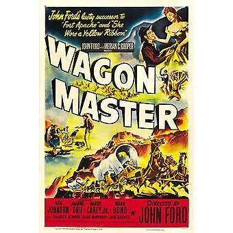 Wagon Master Movie Poster (11 x 17)