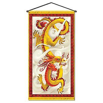 Dragon væg/dørpanel