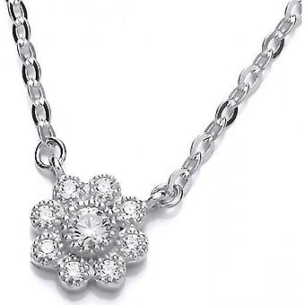 Cavendish French Dancing Daisy Necklace - Silver