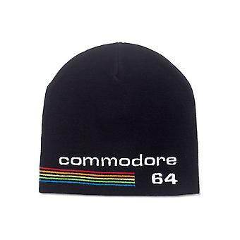 Commodore 64 Embroidered Logo Cuffless Beanie Black (KC622658C64)
