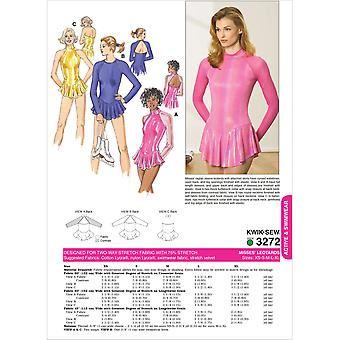 Leotards-XS-S-M-L-XL -*SEWING PATTERN*