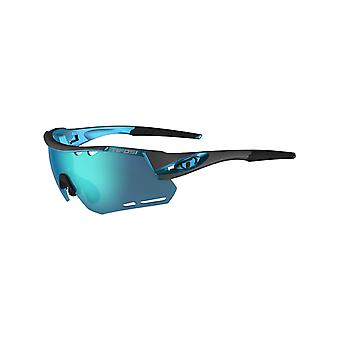 Tifosi Gunmetal-Blue Clarion Alliant Interchangeable Sunglasses