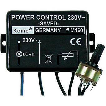 Power controller Component Kemo M160 110 V AC, 230 V AC