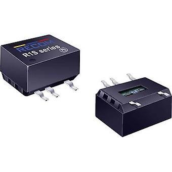 RECOM R1S8-0505 DC/DC converter (SMD) 5 Vdc 5 Vdc 200 mA 1 W No. of outputs: 1 x