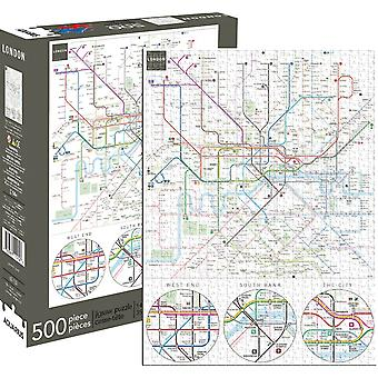 London Underground Map 500 Piece Jigsaw Puzzle 480Mm X 350Mm (Nm 62132)