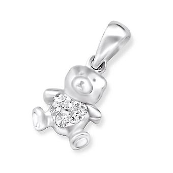 Bear - 925 Sterling Silver Pendants - W24924x