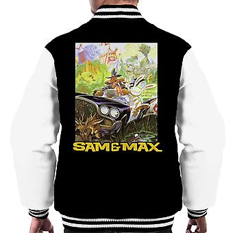 Sam And Max Game Cover Men's Varsity Jacket