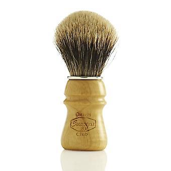 Semogue Owners Club (SOC) Pure Badger Shaving Brush - Ash