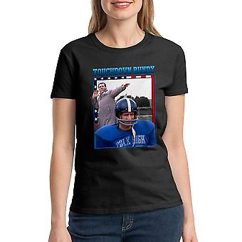 Married With Children Touchdown Bundy Women's Black T-shirt