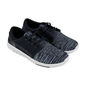 ETNIES Scout Yb Mens Textile bleu Sneakers lacent vers le haut de chaussures de Skate